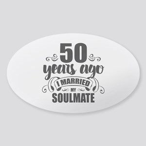 50th Anniversary Sticker (Oval)
