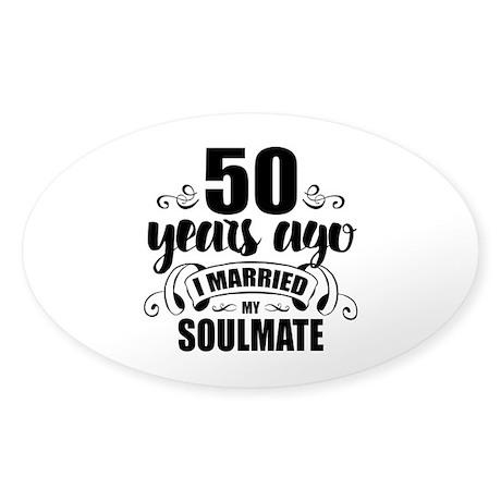 50th Anniversary Sticker (Oval)