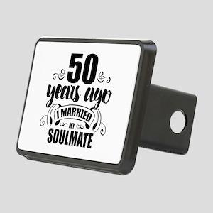 50th Anniversary Rectangular Hitch Cover