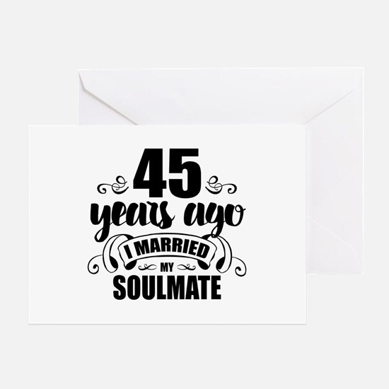 45th Anniversary Greeting Card