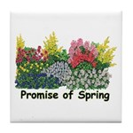 Promise of Spring Tile Coaster