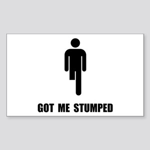 Got Me Stumped Sticker