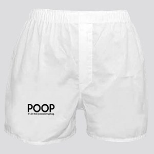 Poop Colostomy 1 Boxer Shorts
