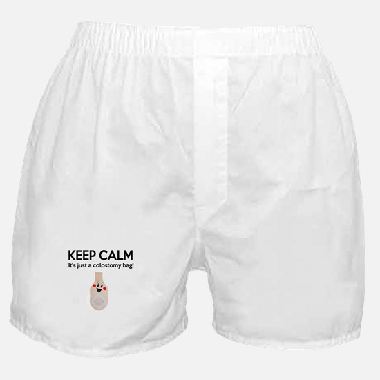 Keep Calm Colostomy - Kids 2 Boxer Shorts