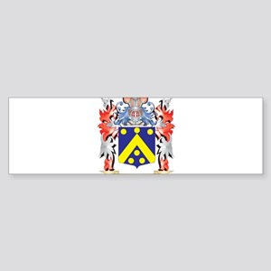 Code Coat of Arms - Family Crest Bumper Sticker
