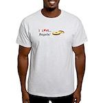 I Love Bagels Light T-Shirt