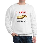 I Love Bagels Sweatshirt