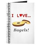 I Love Bagels Journal