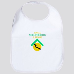 Give a shelter pet a loving home Baby Bib