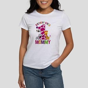 Jungle Birthday Girl's Mommy T-Shirt