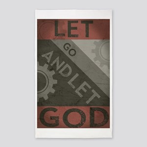 Let Go And Let God (Propaganda) Area Rug