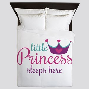 Little Princess Sleeps Here Queen Duvet