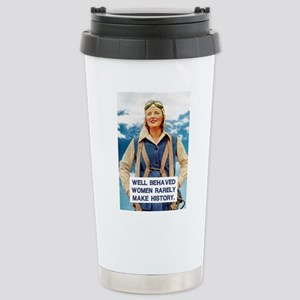 Well Behaved Women Stainless Steel Travel Mug