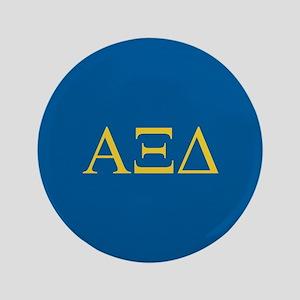 """Alpha Xi Delta Letters 3.5"""" Button"""