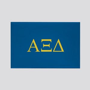 Alpha Xi Delta Letters Rectangle Magnet