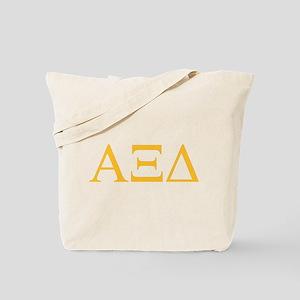 Alpha Xi Delta Letters Tote Bag