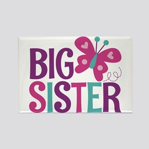 Butterfly Big Sister Magnets