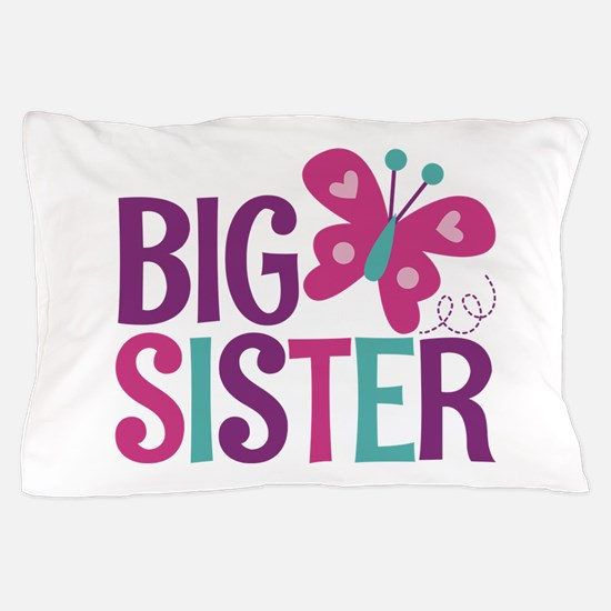 Butterfly Big Sister Pillow Case