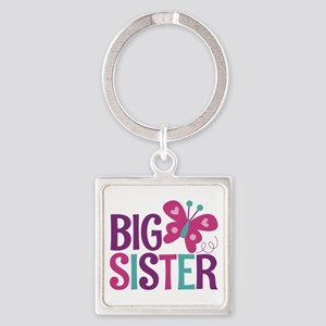 Butterfly Big Sister Keychains