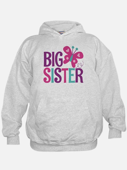 Butterfly Big Sister Sweatshirt