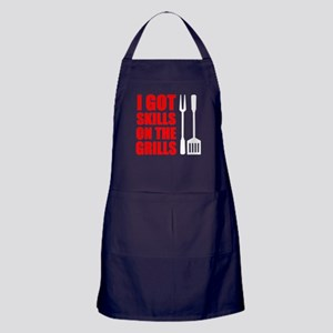 Got Skills On The Grills Apron (dark)