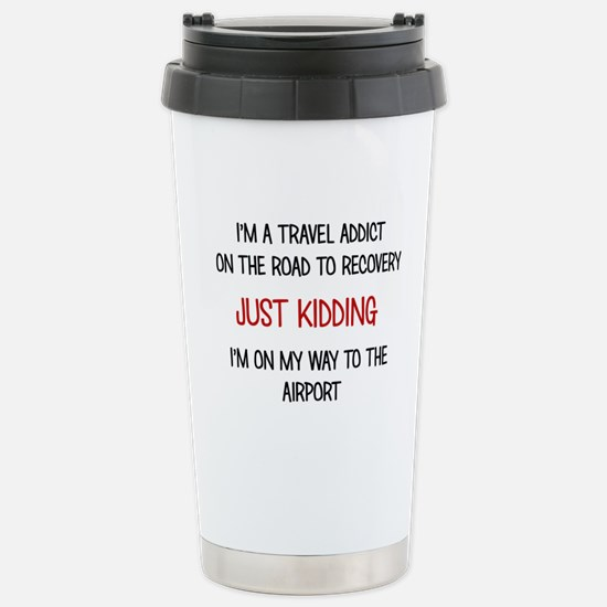 TRAVEL ADDICT Travel Mug