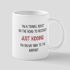 TRAVEL ADDICT Mugs