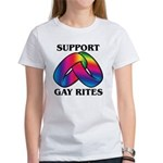 SUPPORT GAY RITES Women's T-Shirt