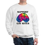SUPPORT GAY RITES Sweatshirt
