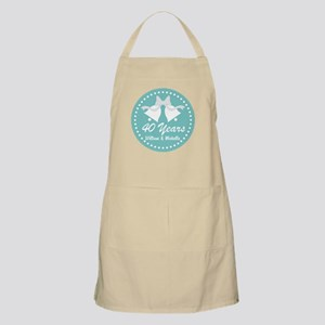 40th Anniversary Personalized Gift Apron