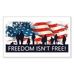 Freedom Isnt Free Sticker