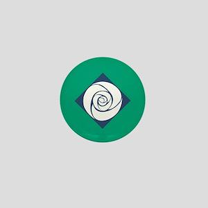 Gamma Alpha Omega Rose Mini Button