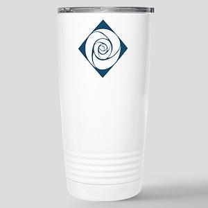 Gamma Alpha Omega Rose Stainless Steel Travel Mug