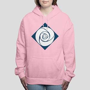 Gamma Alpha Omega Rose Women's Hooded Sweatshirt