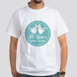 30th Anniversary Personalized Gift T-Shirt