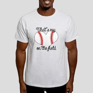 Baseball Heart Light T-Shirt
