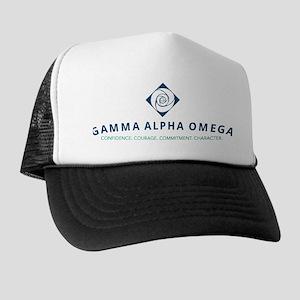 Gamma Alpha Omega Trucker Hat
