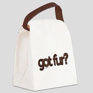 got fur? - Furry Fun - Gay Bear P Canvas Lunch Bag