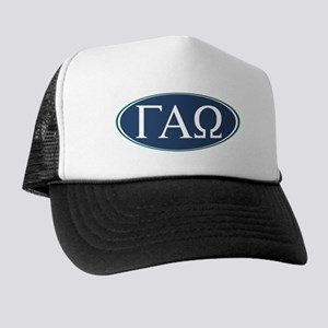 Gamma Alpha Omega Letters Trucker Hat