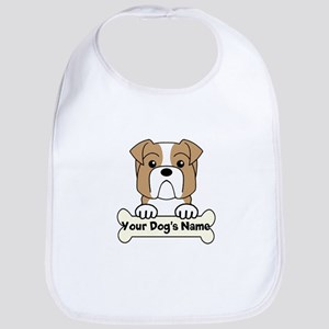 Personalized Bulldog Bib