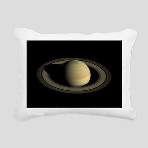 Saturn Portrait by Cassi Rectangular Canvas Pillow