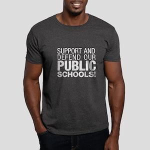 Support Public Schools Dark T-Shirt
