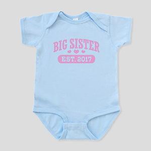 Big Sister Est. 2017 Body Suit