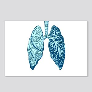 LUNGS Postcards (Package of 8)