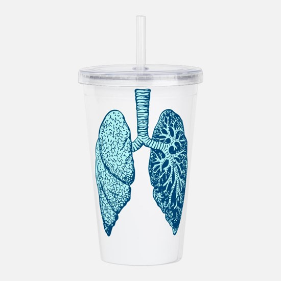 LUNGS Acrylic Double-wall Tumbler