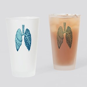 LUNGS Drinking Glass