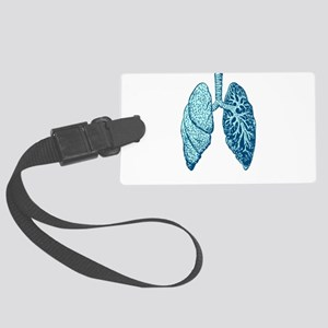 LUNGS Luggage Tag