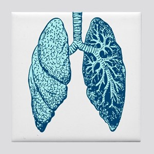 LUNGS Tile Coaster