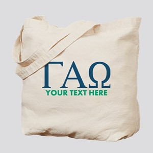 Gamma Alpha Omega Letters Personalized Tote Bag