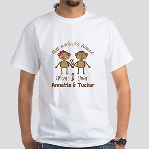 Funny 1st Anniversary Personalized T-Shirt